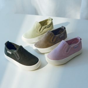 2020 New Style Casual Shoes Autumn Canvas Shoes Canvas Boys Shoes Flat Loafers