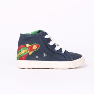 Custom High Top Breathable Casual Flat Shoes Baby Shoes Boy Casual Girl Kids Casual Shoes