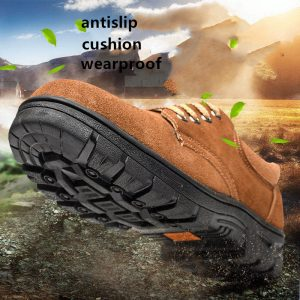 Lightweight Breathable Safety Shoes Winter Executive Electric Insulated Leather Safety Shoes For Men