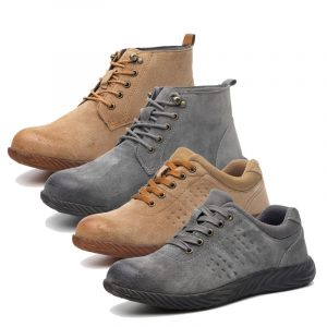Anti-Static Industrial Safety Shoes Manufacturer Electric Insulated Leather Safety Shoes