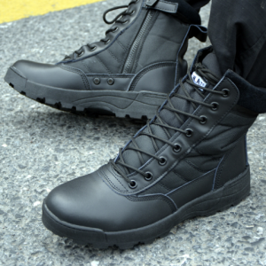 2020 New Style Men's Hiking Boots Work Safety Shoes Steel Toe Black Hammer Safety Shoes